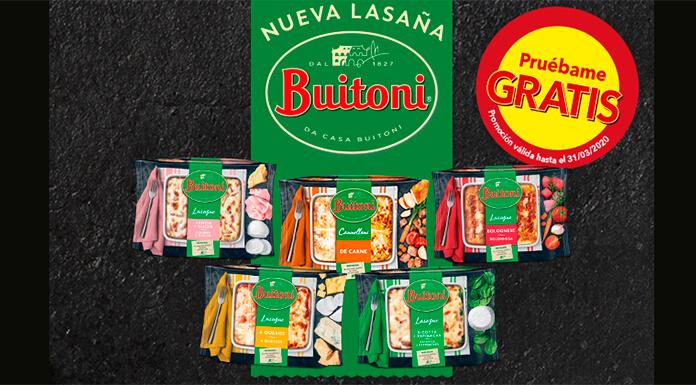 Prueba gratis las lasañas o canelones Buitoni