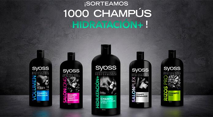 Sortean 1.000 Champús Syoss Hidratación +