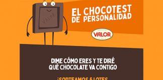 Sorteo de 5 lotes de chocolates Valor