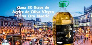 Sorteo de Aceite de Oliva Virgen Extra Oro Madrid