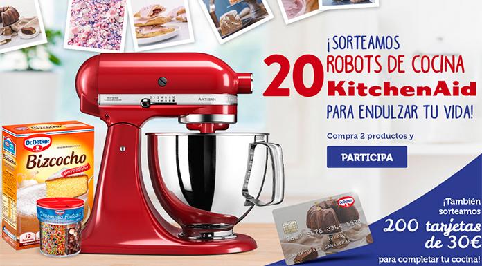 Dr. Oetker sortea 20 robots de cocina