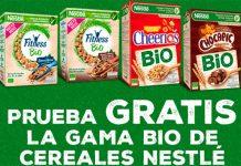 Prueba gratis la gama Bio de cereales Nestlé