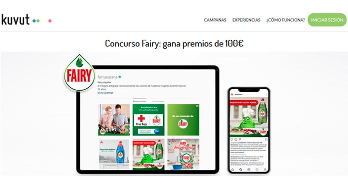 Concurso Fairy en Kuvut: gana premios de 100€
